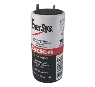 ENERSYS - 0850-0004. Batterie rechargeable au Plomb-acide technologie AGM-VRLA. Série Cyclon. 2Vdc / 8Ah Application stationnaire